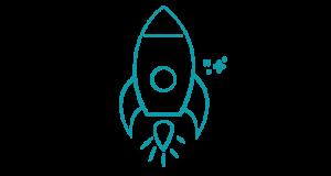 Picto fusée coaching personnel - Mystartr