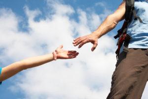 Mains tendus et entre-aide - accompagnement personnel MyStartR